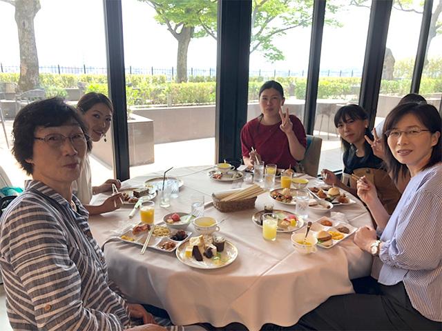 ホテル城山 昼食