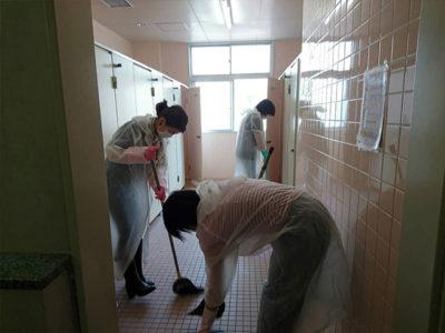 2018年6月27日 トイレ掃除作業