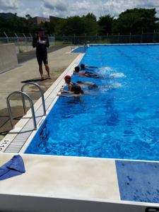 令和元年度「夏休み水泳教室」