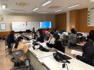 福田恵子栄養教諭による講習会