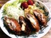 親子料理メニュー「チーズ入り黒豚ミルフィーユカツ」