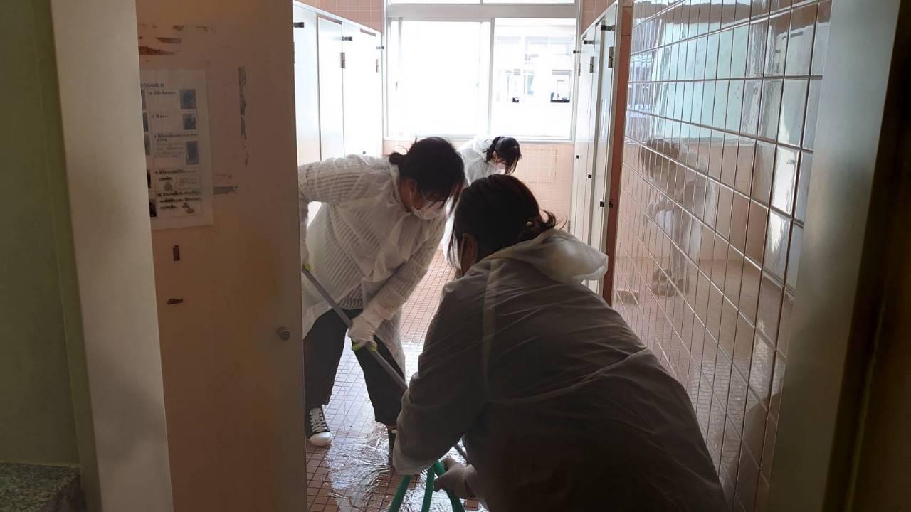 第2回学校保健委員会・トイレ清掃